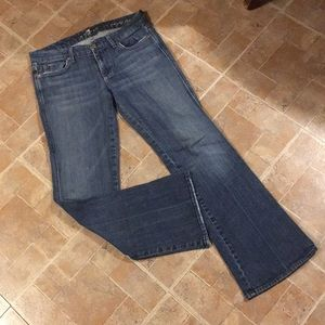 7 For All Mankind boot cut jeans size women's 30